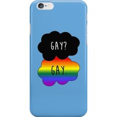 Gay? Gay. | iPhone 6s - Snap ❤ liked on Polyvore featuring accessories and tech accessories