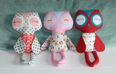 Custom Owl Stuffie!