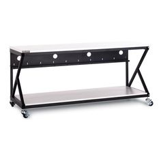 "72"" Performance 300 Series® LAN Station - Folkstone Item #: 5000-3-300-72"