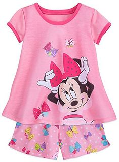 Looking for Disney Minnie Mouse Shorts Sleep Set For Girls ? Check out our picks for the Disney Minnie Mouse Shorts Sleep Set For Girls from the popular stores - all in one. Disney Girls, Baby Disney, Toddler Girl Outfits, Kids Outfits, Toddler Girls, Girls 4, Amelia, Short Niña, Disney Pajamas
