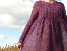 Ravelry: 14 Grey Mohair Dress by Rebecca Design Team