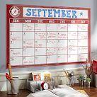 Collegiate Dry Erase Calendar   PBteen