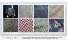 Menswear Forecast Design Capsule S/S 17 – Edgelands Material & Detail