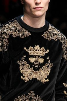 monsieurcouture:  Dolce And Gabbana F/W 2015 Menswear Milan Fashion Week