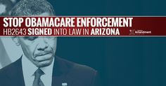 Arizona Gov. Doug Ducey has signed a bill into law that creates significant roadblocks for implementation of the Affordable Care Act, leaving the federal program without an enforcement mechanism in the state.