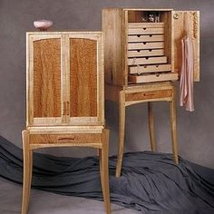 Tusk Jewelry Cabinet Custom Made By Anthony Kahn Furniture