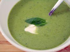 Creamy asparagus velouté