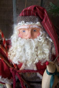 Oh SANTA..Please come early this year.................HAFAIR by RENEE TOUSIGNANT on Etsy