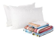 Pillows, £19.99, and bedding.
