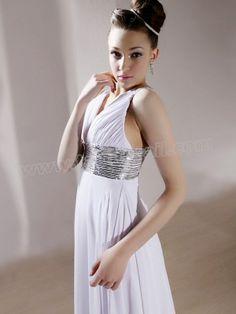 V-Neck Luxury Wedding Dress