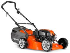 """A versatile lawn mower with a larger 48cm (19"""") cutting deck, powerful DOV four stroke engine and four cutting blades to give a superior cut and finish to your lawn. Features include dual ball bearing wheels, comfort grip folding handles with quick action cam locks, safety zone starting, large plastic catcher and ten cutting heights. Comes complete with mulch insert."""