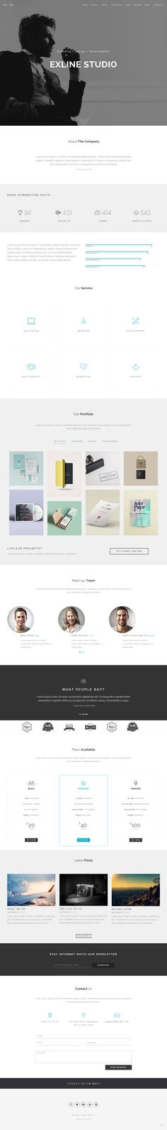 Parallax Website Template Locations Is Premium Full Responsive Retina #html5Template