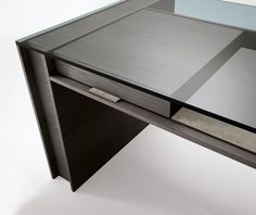Office Furniture- glass top desk