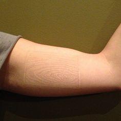 Happily healed white tattoo