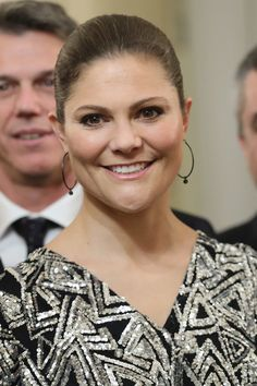 Princess Victoria Photos - Princess Victoria of Sweden attends a party honouring the Swedish Crown Couple and Minister Ekstrom in Milan on December 16, 2016 in Milan, Italy. - Party Honouring the Swedish Crown Couple and Minister Ekstrom in Milan