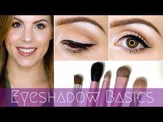 Makeup 101 ♡ Eyeshadow Basics for Beginners Tutorial!
