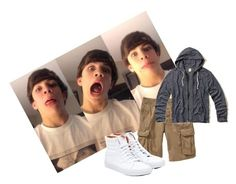 """OOTD () PM me?! () Online () Hayes"" by stfuanon on Polyvore featuring Old Navy, Hollister Co. and Vans"