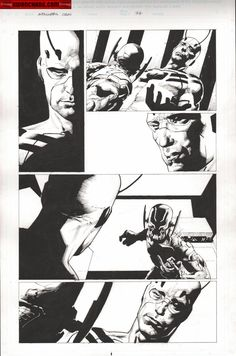 Comic Art For Sale from Kwan Chang, Avengers : Rage of Ultron Issue 01 Page 77 by Comic Artist(s) Jerome Opena