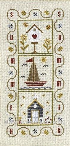 I love to cross stitch when I have the time