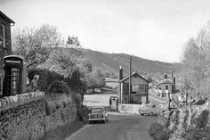 Bronwydd Arms Station, entrance. Date	1 June 1962