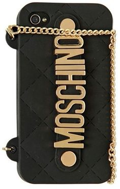 ➗Moschino Chained Logo Iphone Case