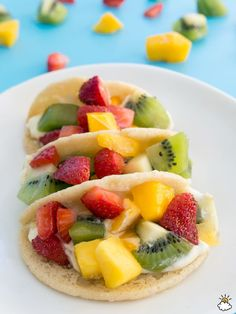 Sugar Cookie Fruit Tacos Are A Sweet Summer Treat For The Whole Family