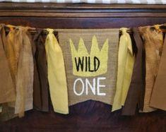 Wild One Banner Wild One First Birthday Wild by bannersandbeyond