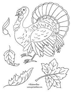hand embroidery designs Thanksgiving - Google Search