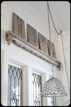 architectural salvage: Rustic Crafts & Chic Decor