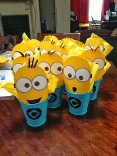 despicable me table centerpieces