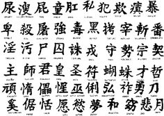 Letras chinas y significados para tatuajes - Tendenzias.com