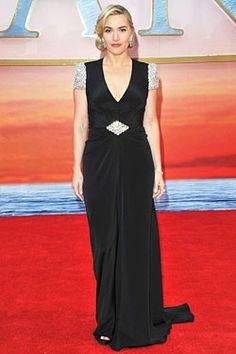 Kate Winslet glams up in Jenny Packham