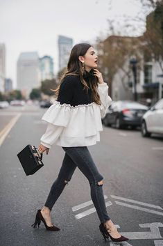 Statement Ruffles #fall #fashion