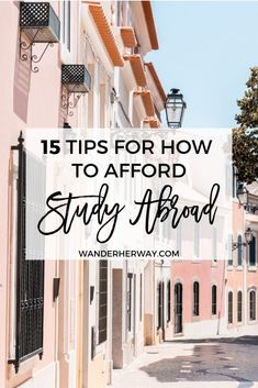 Studying abroad is one of the best experiences you can have during college, but it can be expensive. Here's how to afford study abroad! Travel Photos, Travel Tips, Travel Ideas, Travel Destinations, Travel Hacks, Budget Travel, Travel Vlog, Travel Essentials, Personal Branding