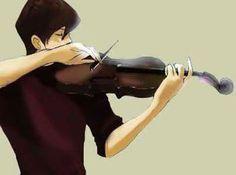 Seto Kaiba playing violin! OuO