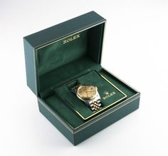 Rolex ♛ Men's Two-Tone Stainless Steel & 18k Gold OPDJ Automatic Watch 16013 #Rolex #LuxuryDressStyles