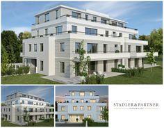 Großzügige 2 Zimmer Erstbezugs-Wohnung mit Sonnen Terrasse in der Riedenburg! Villa, Salzburg, Multi Story Building, Mansions, House Styles, Home Decor, Terrace, Old Town, Real Estate