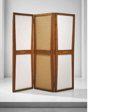 Pierre Jeanneret - Folding screen, model no. designed for the Secretariat, the Assembly and the Punjab University administrative buildings, Chandigarh, Pierre Jeanneret, Divider, Search, Designers, Detail, Home Decor, Decoration Home, Room Decor, Searching
