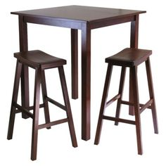 Counter-height dining room table -- the perfect size for a standing desk.
