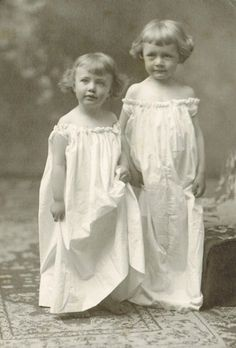 Two in their nighties, aren't they just angelic? I want to give them milk and cookies and tell them a story!!