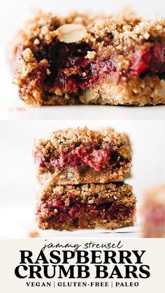 Healthy Desserts, Delicious Desserts, Yummy Food, Sugar Free Vegan Desserts, Tasty, Gluten Free Baking, Vegan Baking, Healthy Baking, Paleo Recipes
