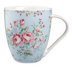 NEW Cath Kidston Chelsea Roses Crush Mug -  500ml