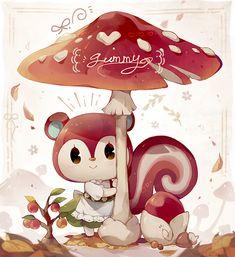 Animal Crossing Fan Art, Animal Crossing Guide, Animal Crossing Memes, Animal Crossing Villagers, Animal Crossing Pocket Camp, Pokemon, Animal Games, Art Memes, Illustrations