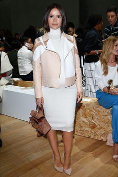 Miroslava Duma at Chloé Parigi - Collezioni Primavera Estate 2015 - Vogue