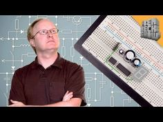 Principles of Schematics - Ben goes over schematics, a basic part of any electronics project. He shows what the symbols mean and how to go from schematic to working project.