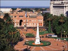 Argentina Plaza de Mayo - has endured and witnessed the history of the country.  Revolution, celebration, commemoration.  This is what a public square is all about!