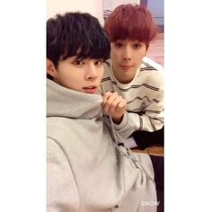 [IG] 161121 UP10TION Kogyeol & Wooshin (u10t_official)'s Instagram Update  #업텐션 #UP10TION #고결 #우신  #Kogyeol #Wooshin
