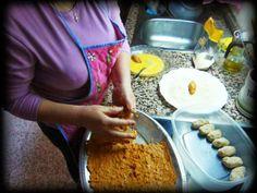 Cocina conmigo (III): Croquetas de berenjenas y gambas
