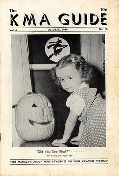 Vintage Halloween Magazine ~ The KMA Guide ©October, 1949