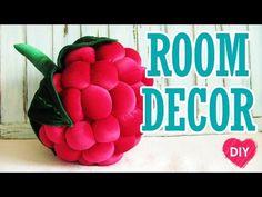 Como costurar um travesseiro framboesas. Bonito decoração do quarto. DIY. - YouTube